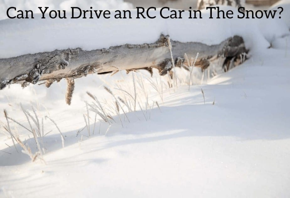 Can You Drive an RC Car in The Snow?