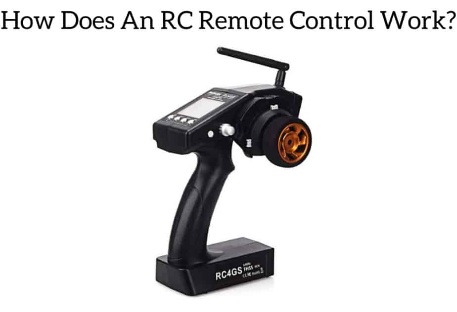 How Does An RC Remote Control Work?