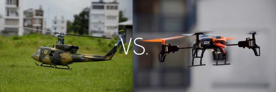 RC Helicopter Vs Drone