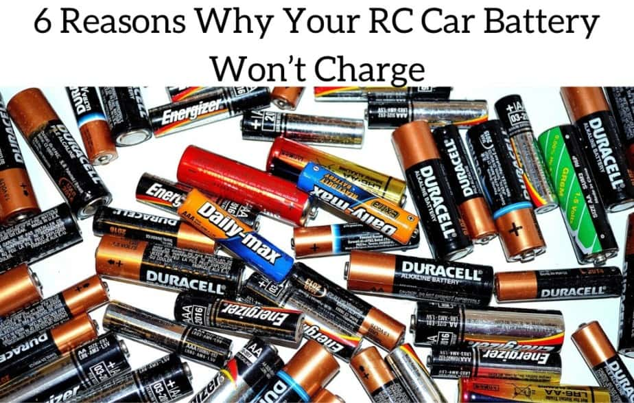 6 Reasons Why Your RC Car Battery Won't Charge