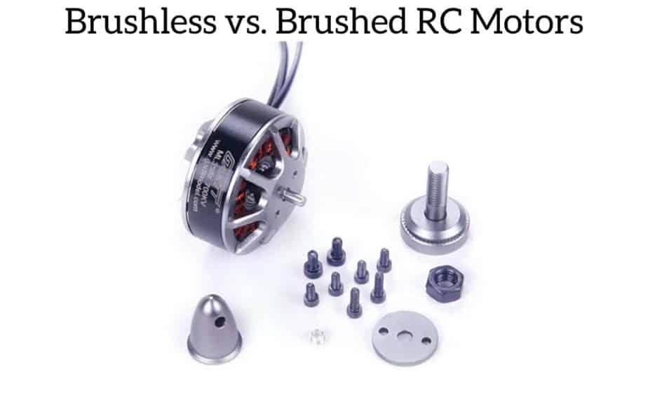 Brushless vs. Brushed RC Motors