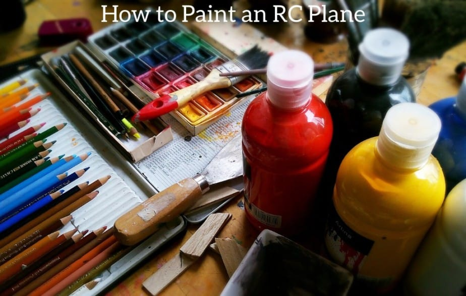 How to Paint an RC Plane