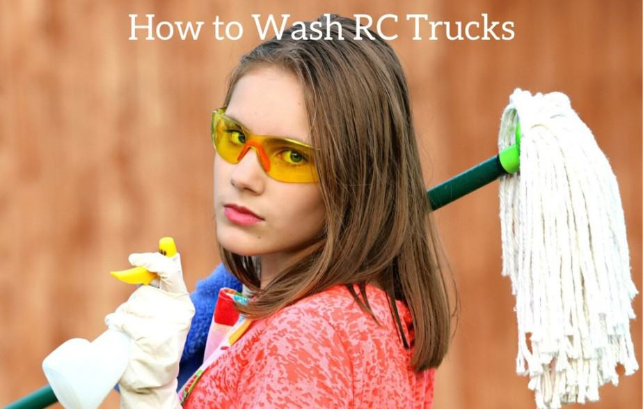 How to Wash RC Trucks