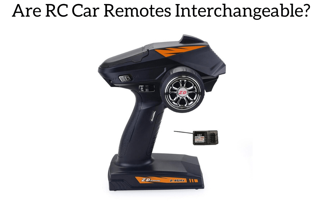 Are RC Car Remotes Interchangeable?
