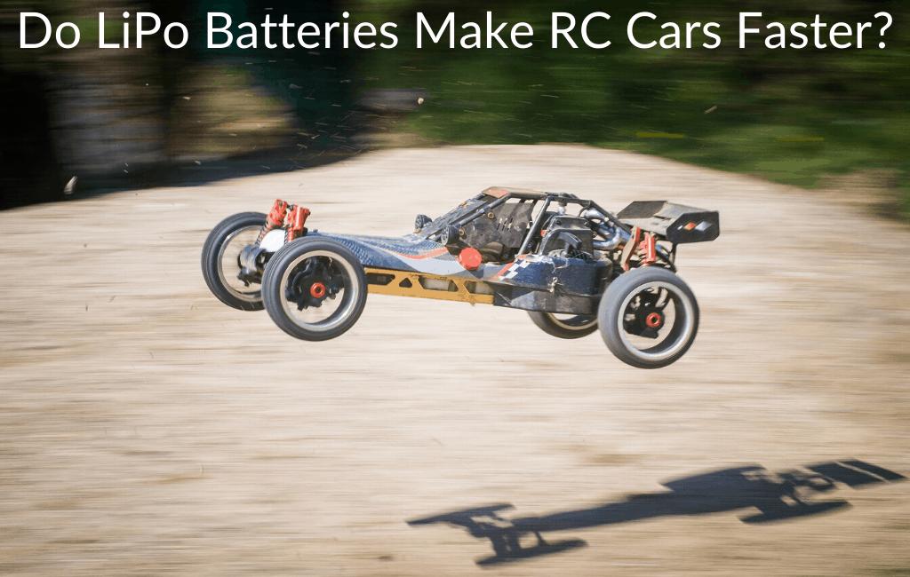 Do LiPo Batteries Make RC Cars Faster?