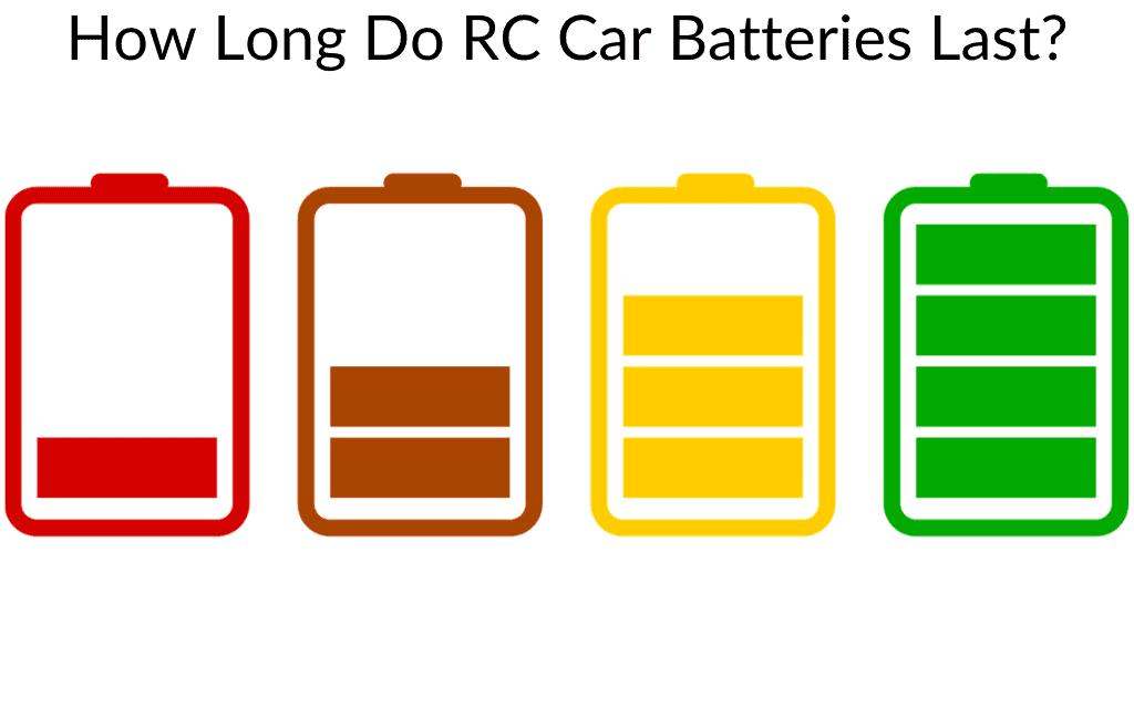 How Long Do RC Car Batteries Last?