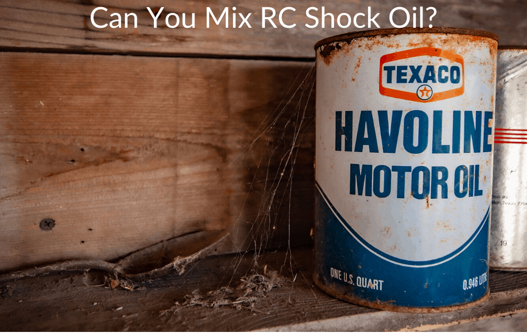 Can You Mix RC Shock Oil?