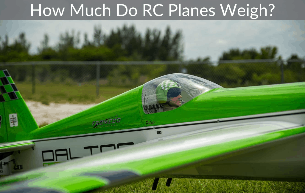 How Much Do RC Planes Weigh?