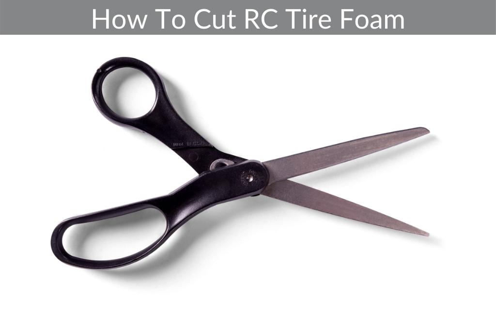 How To Cut RC Tire Foam
