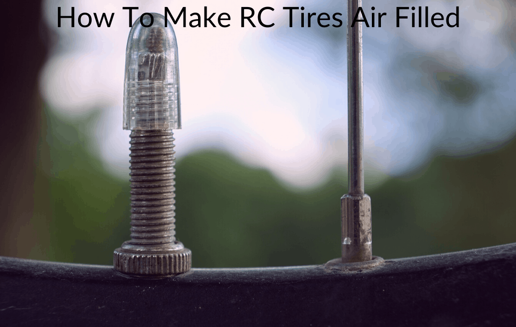 How To Make RC Tires Air Filled