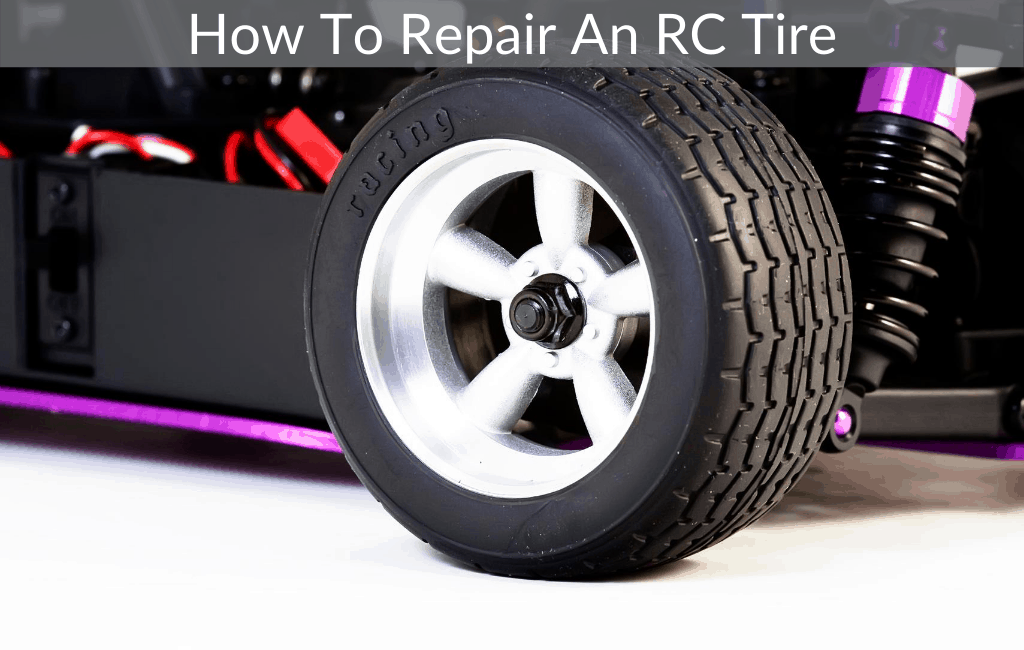 How To Repair An RC Tire