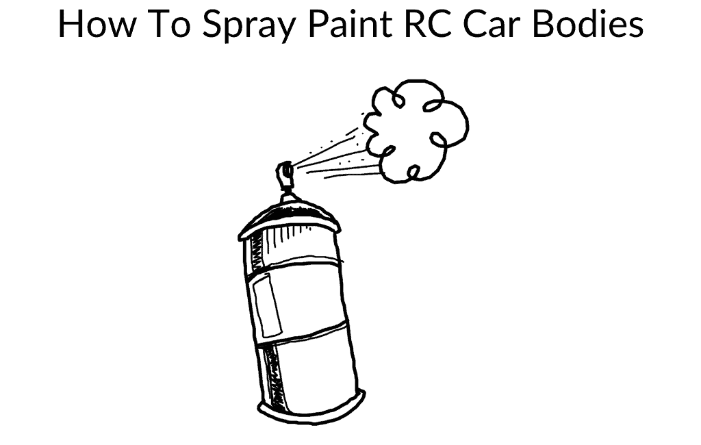How To Spray Paint RC Car Bodies