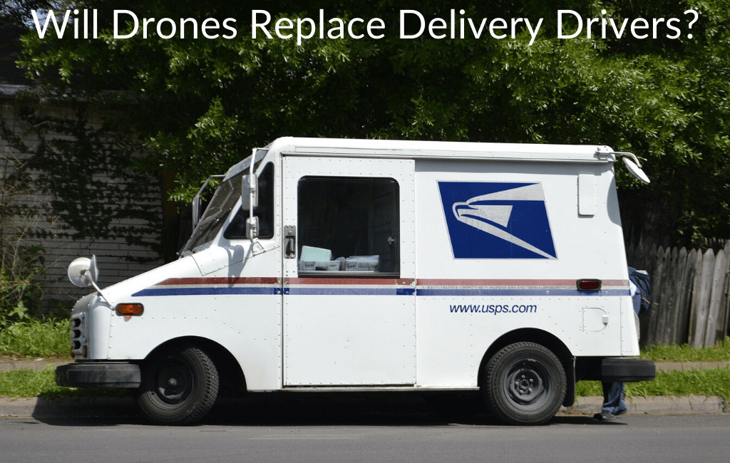 Will Drones Replace Delivery Drivers?