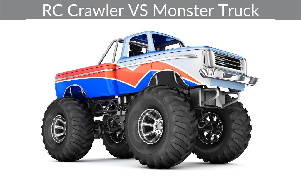 RC Crawler VS Monster Truck