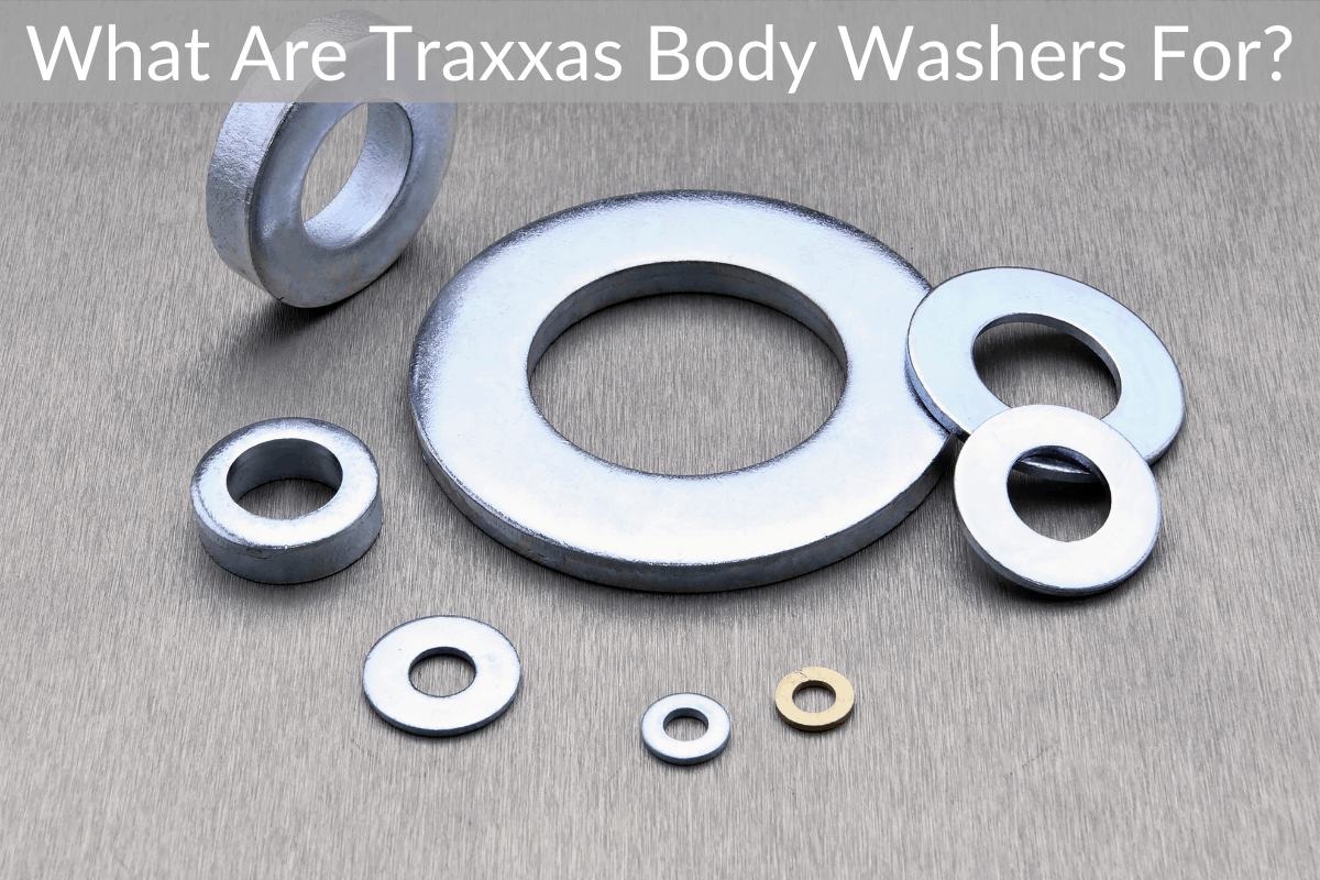 What Are Traxxas Body Washers For?
