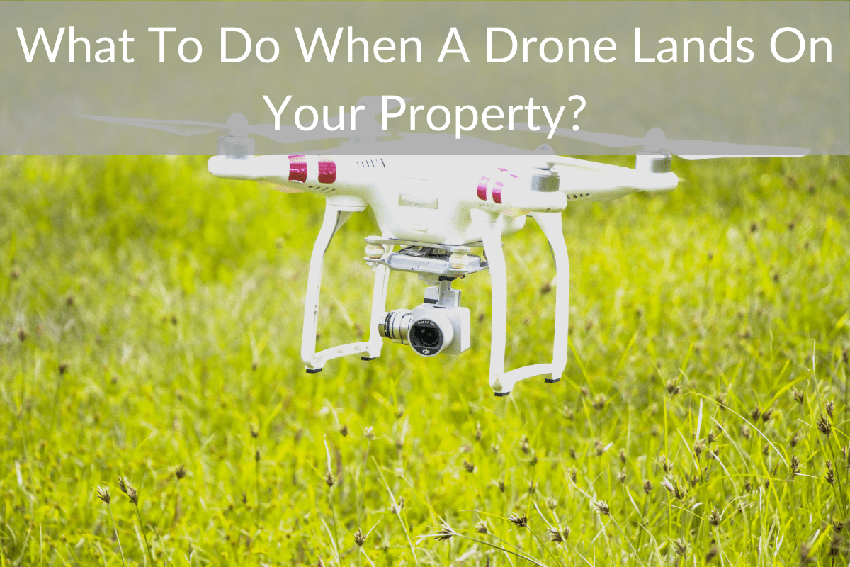 What To Do When A Drone Lands On Your Property?