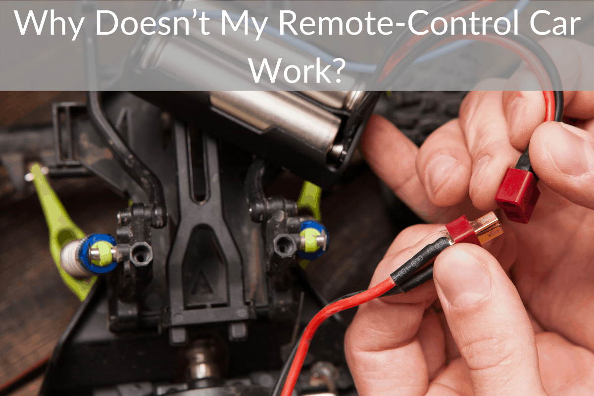 Why Doesn't My Remote-Control Car Work?