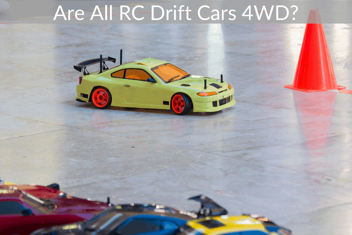 Are All RC Drift Cars 4WD?