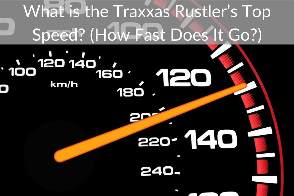 What is the Traxxas Rustler's Top Speed? (How Fast Does It Go?)